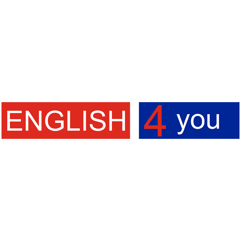 ENGLISH4you A Coruña Logotipo